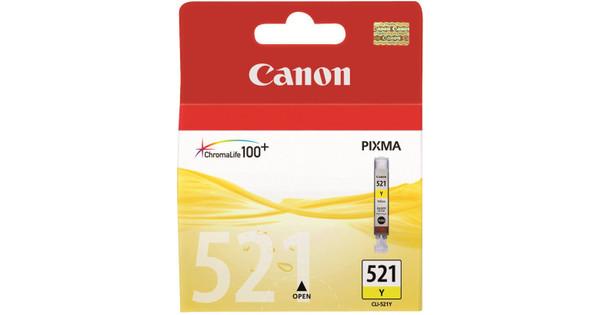 Canon CLI-521Y Yellow Ink Cartridge (geel) (2936B001)