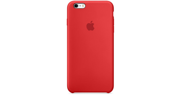Apple iPhone 6/6s Silicone Case (PRODUCT)RED