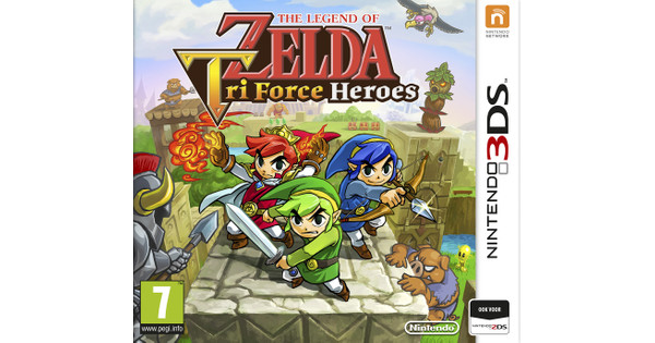 The Legend of Zelda: Tri Force Heroes 3DS