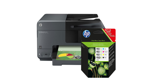 Hp Officejet Pro 8610 4 Kleuren Pack Xl Coolblue Voor 2359u