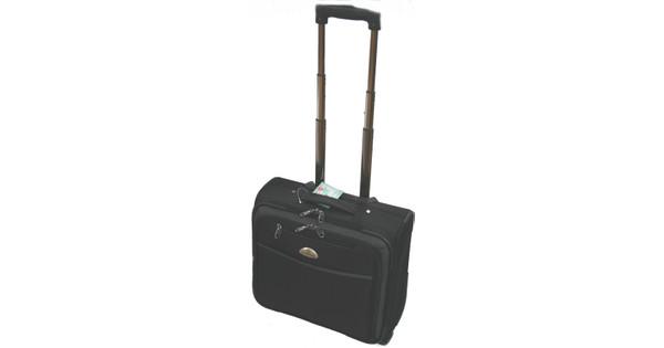 Adventure Bags Business Laptop Trolley Zwart