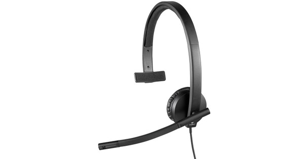Logitech USB Headset Mono H570e Black