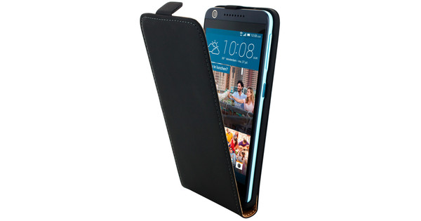 low priced 7cf35 7c8a8 Mobiparts Premium Flip Case HTC Desire 626 Zwart