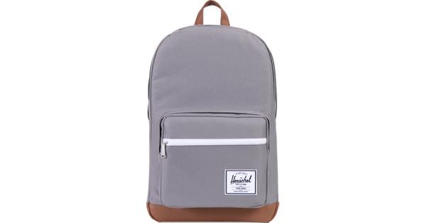 Herschel Pop Quiz Grey/Tan Synthetic Leather