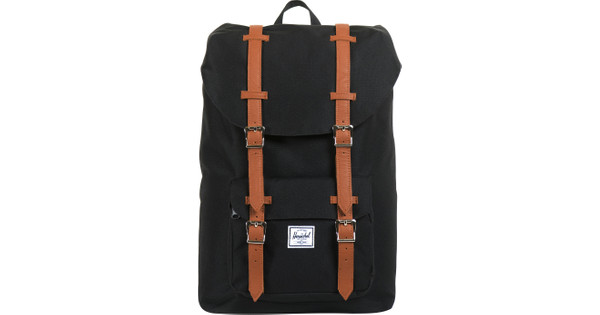 73852549280 Herschel Little America Mid-Volume Black Tan PU - Coolblue - Before 23 59