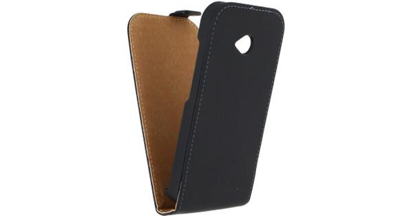 Mobilize Ultra Slim Flip Case Motorola Moto E (2015) Zwart