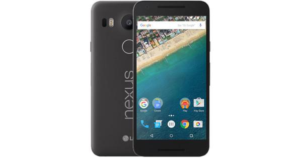 LG NEXUS 5X 16 GB Zwart