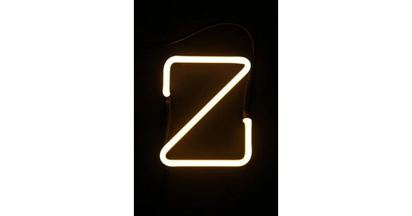 Neon Letters Huis : Seletti neon letter z coolblue voor 23.59u morgen in huis