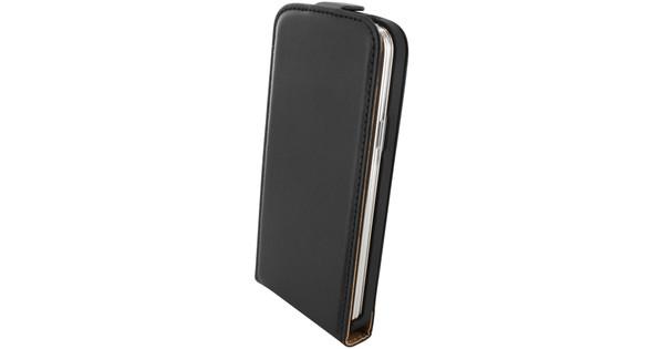 Mobiparts Essential Flip Case Samsung Galaxy S5 Mini Zwart