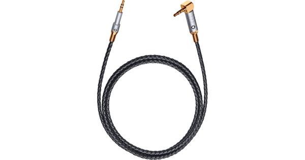 Oehlbach XXL i-Jack 3,5 mm Naar 3,5 mm Kabel 1,5 Meter