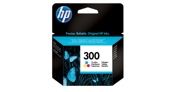 HP 300 Combo Pack Tri-color (HPCC643E)