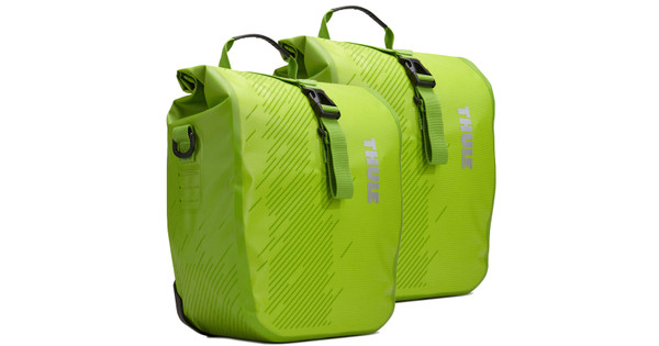 Thule Pack 'n Pedal Shield Pannier Chartreuse - S (paar)