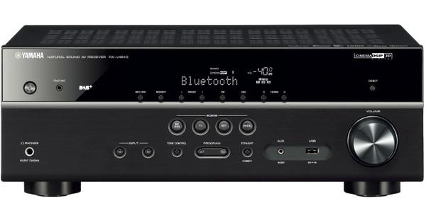 Yamaha RX-V 481 DAB+ MusicCast Zwart