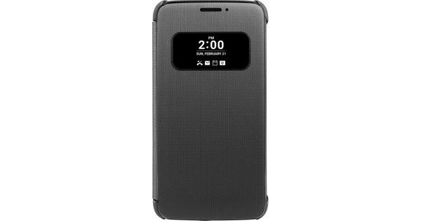 LG G5 Quick Cover Zwart