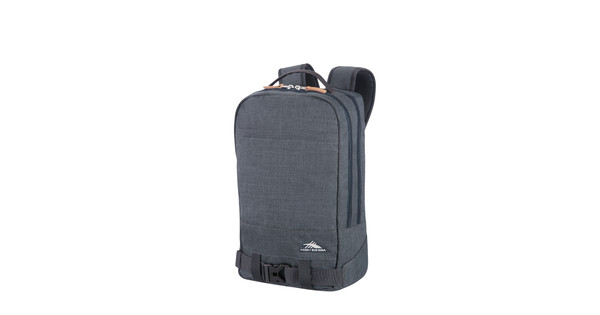 0a150608e6d High Sierra Urban Packs Doha Backpack Dark Grey - Coolblue - Voor ...