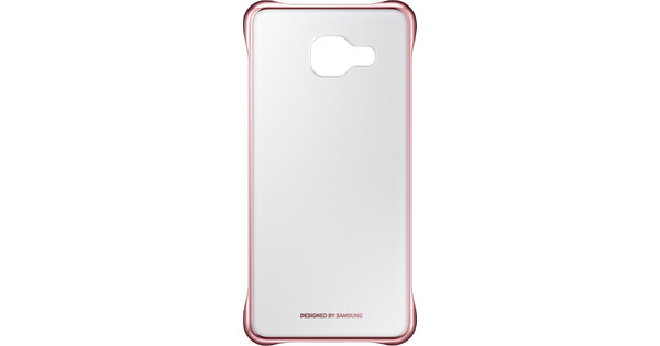 Samsung Galaxy A3 (2016) Clear Cover Rose Gold
