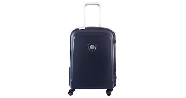 Delsey Belfort Plus Slim Trolley 55cm Blauw
