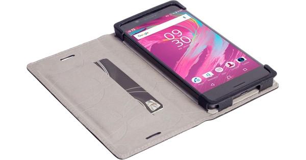 Krusell Malmo Book Case Sony Xperia X / X Performance Zwart