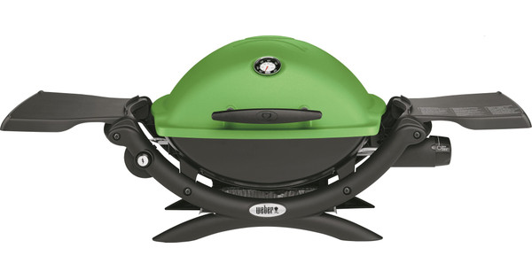 Weber Q1200 Green Coolblue Before 23:59, delivered tomorrow