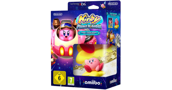 Kirby: Planet Robobot 3DS + Amiibo