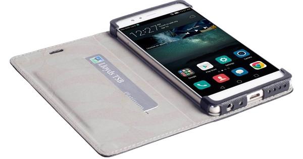 Krusell Malmo Book Case Huawei P9 Zwart