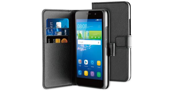 BeHello Wallet Case Huawei Y6 Black