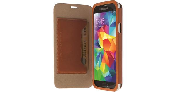 Krusell Kiruna Book Case Samsung Galaxy S5 Bruin