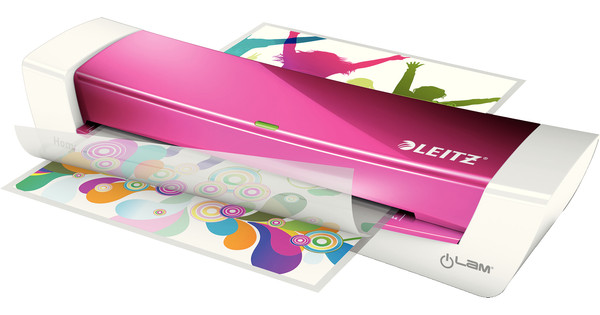 Leitz iLAM Home Office A4 Roze
