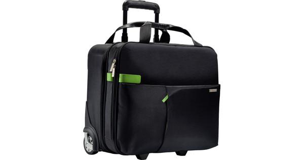 a8dff7f8a68 Leitz Complete Smart Carry-On Trolley Zwart - Coolblue - Voor 23.59u,  morgen in huis