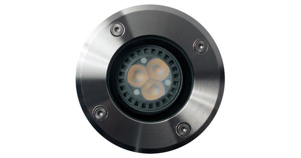 KS Verlichting RVS Grondspot Inbouw - Coolblue - alles voor een glimlach