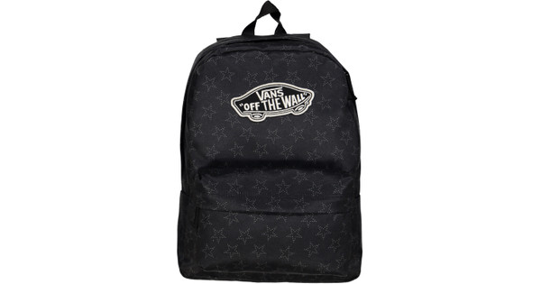 d5dc08f4cd8 Vans Realm Backpack Star Dot Black - Coolblue - Voor 23.59u, morgen ...