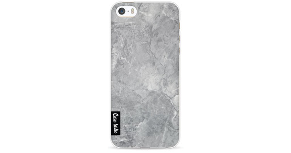 Casetastic Softcover Apple iPhone 5/5S/SE Grey Marble