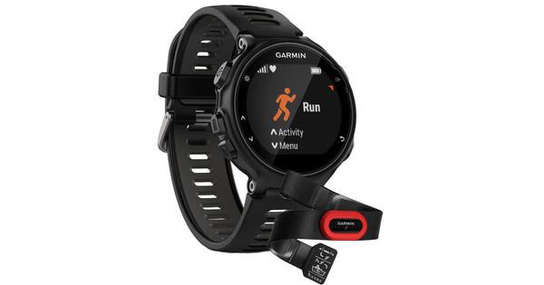 Garmin Forerunner 735XT Run Bundel Zwart