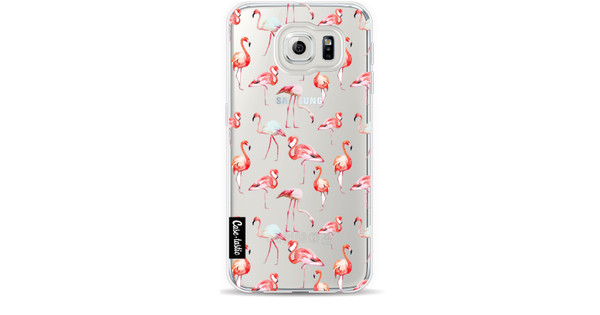 Casetastic Softcover Samsung Galaxy S6 Flamingo Party