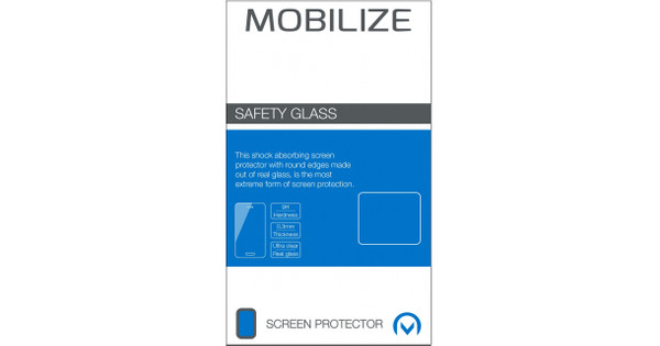 Mobilize Safety Glass Asus Zenfone 4 Max 5.5 Inch Screen Protector Glass