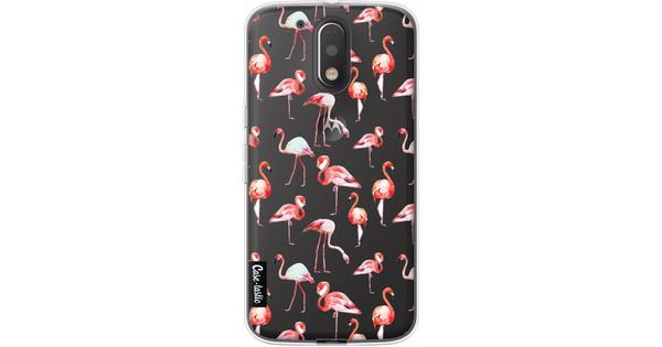 Casetastic Softcover Motorola Moto G4/G4 Plus Flamingo Party