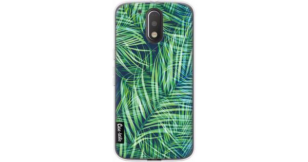 Casetastic Softcover Motorola Moto G4 / G4 Plus Palm Leaves