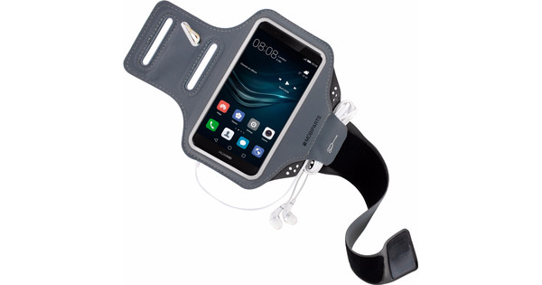 Mobiparts Comfort Fit Sports Bracelet Huawei P9 Gray