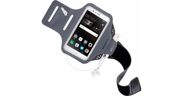 Mobiparts Comfort Fit Sports Bracelet Huawei P9 Lite Gray