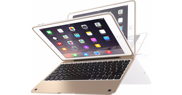 best service d1bd4 e98ad Incipio ClamCase Pro iPad Air 2 Goud Wit