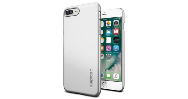 Spigen Thin Fit Apple iPhone 7 Plus/8 Plus Zilver