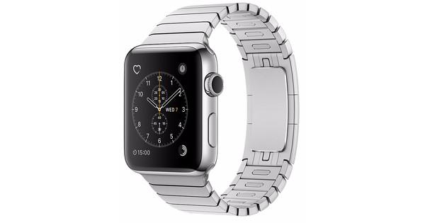 Apple watch series mm roestvrij staal schakel polsband