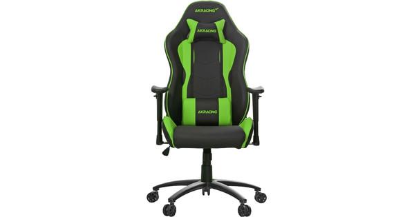 Groovy Ak Racing Nitro Gaming Chair Green Theyellowbook Wood Chair Design Ideas Theyellowbookinfo