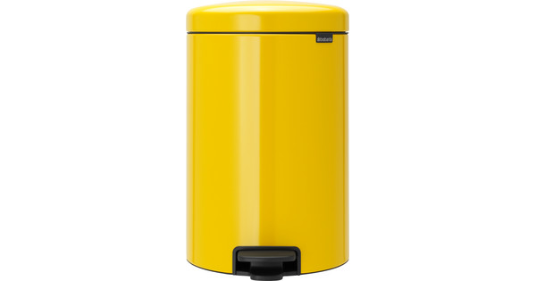 Brabantia NewIcon Pedaalemmer 20 Liter Geel