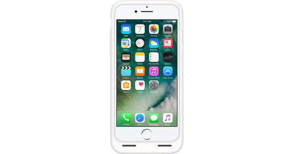Apple iPhone 7 Smart Battery Case White