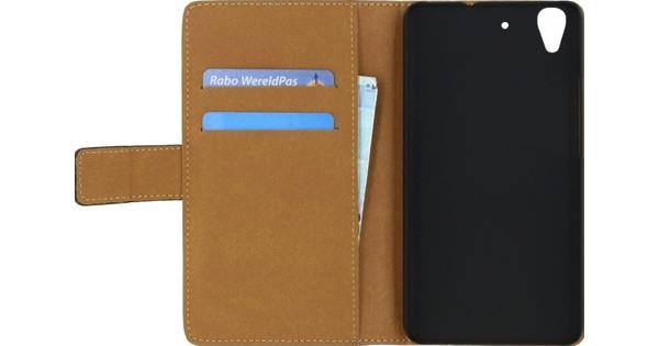 Mobilize Classic Wallet Book Case Huawei Y6 II Zwart