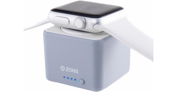 Zens Apple Watch Power Bank Gray