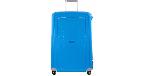 af9b3023b46 Samsonite S'Cure Spinner 75cm Pacific Blue - Coolblue - Voor 23.59u ...
