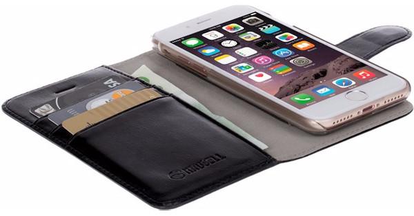 Krusell Ekero 2-in-1 Wallet Case Apple iPhone 7/8 Zwart