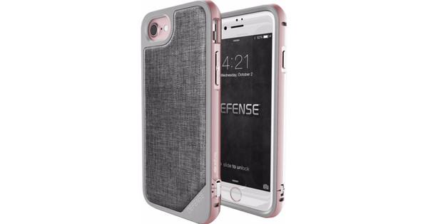 X-Doria Defense Lux Cover Apple iPhone 7/8 Grijs